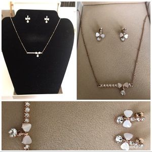 Set of necklace and earring